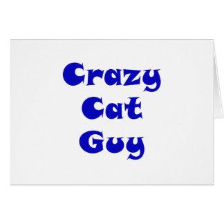 Crazy Cat Guy Cards