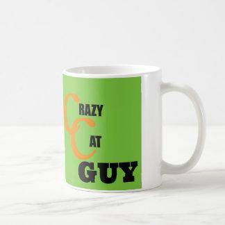 Crazy Cat Guy Collection Coffee Mug