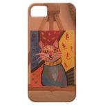 Crazy Cat iPhone 5 Cases