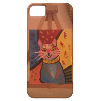 Crazy Cat iPhone SE/5/5s Case