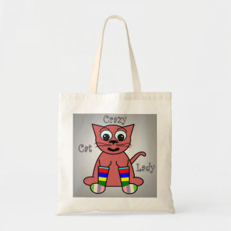 Crazy Cat Lady Tote Bags