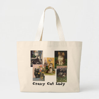Crazy Cat Lady Canvas Bags