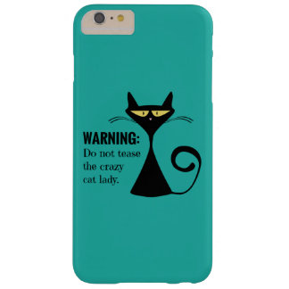 Crazy Cat Lady Barely There iPhone 6 Plus Case