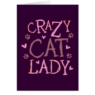 Crazy Cat Lady Cards