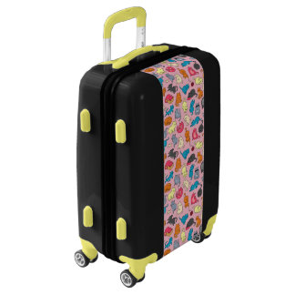 Crazy Cat Lady Carry On Luggage