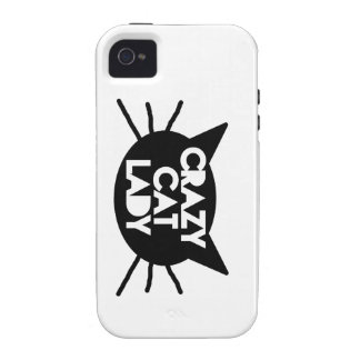 Crazy Cat Lady Case-Mate iPhone 4 Cases
