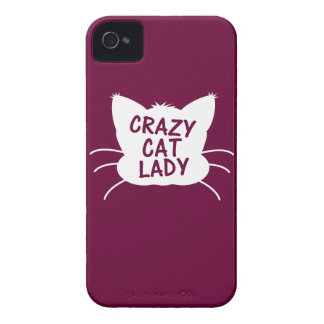 Crazy Cat Lady iPhone 4 Covers