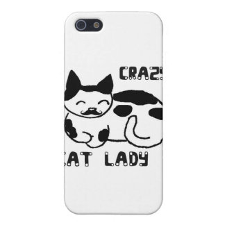 Crazy cat lady case for iPhone SE/5/5s
