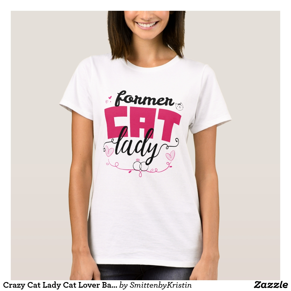 Crazy Cat Lady Cat Lover Bachelorette Party  Gift T-Shirt - Best Selling Long-Sleeve Street Fashion Shirt Designs