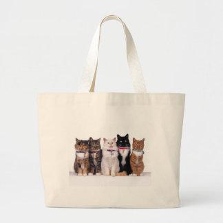 crazy cat lady cats tote bag