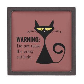 Crazy Cat Lady Gift Box