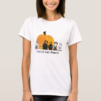 Crazy Cat Lady Halloween T-Shirt