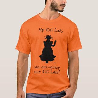 Crazy Cat Lady Husband Tee