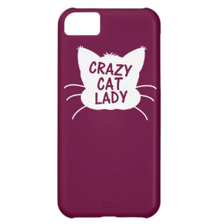 Crazy Cat Lady iPhone 5C Covers
