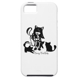 Crazy Cat Lady iPhone SE/5/5s Case