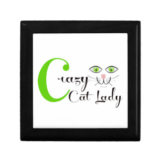 Crazy Cat Lady! Jewelry Box