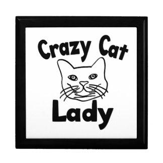 Crazy Cat Lady Jewelry Box