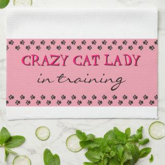 Crazy Cat Lady Kitchen Towel
