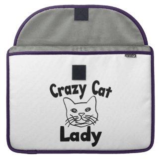 Crazy Cat Lady MacBook Pro Sleeves