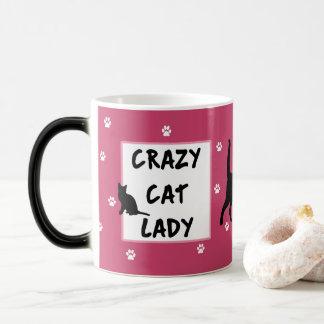 Crazy Cat Lady Morphing Mug