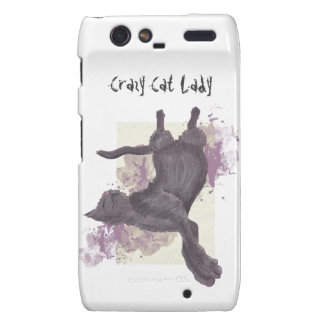 Crazy Cat Lady Motorola Droid RAZR phone case Droid RAZR Cases