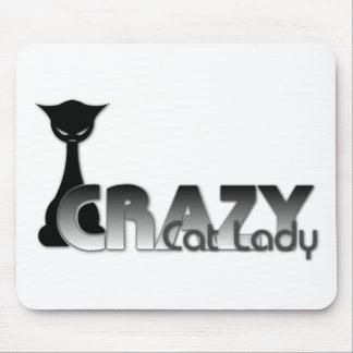 Crazy Cat Lady Mouse Pad
