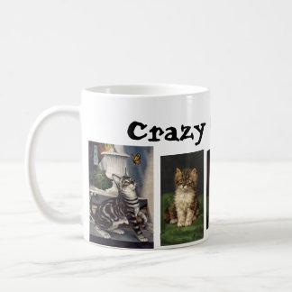 Crazy Cat Lady Classic White Coffee Mug