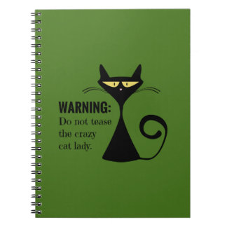 Crazy Cat Lady Notebook
