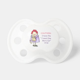 CRAZY CAT LADY BooginHead PACIFIER