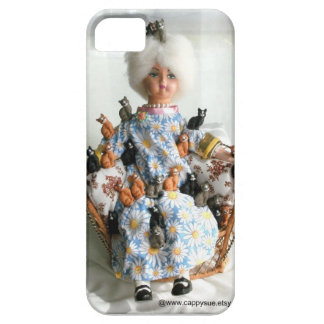 Crazy Cat Lady phone case by Cappy Sue