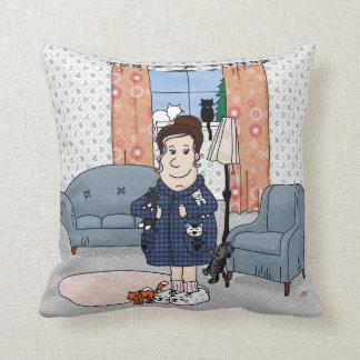 'Crazy Cat Lady' Pillow