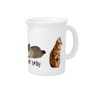 Crazy Cat Lady Pitcher