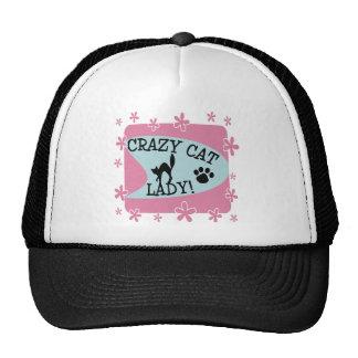 Crazy Cat Lady - Retro Mesh Hat