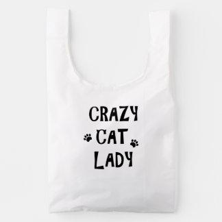 Crazy Cat Lady Reusable Bag