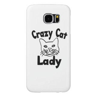 Crazy Cat Lady Samsung Galaxy S6 Case