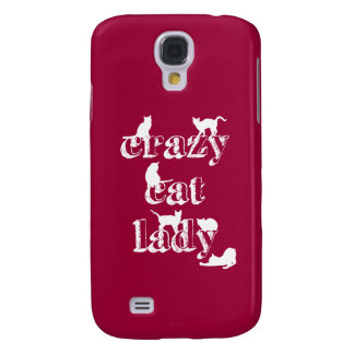 Crazy Cat Lady Samsung S4 Case