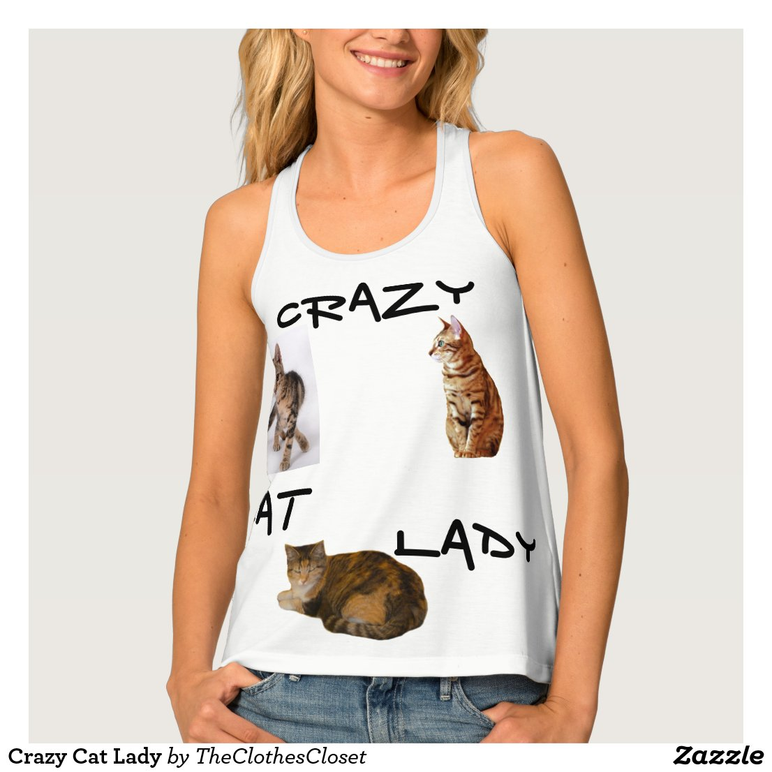 Crazy Cat Lady Tank Top
