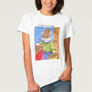 Crazy Cat Lady Tee Shirt