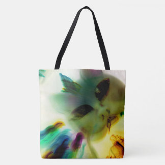 Crazy Cat Lady Tote Bag by Artist C.L. Brown