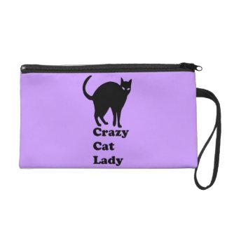 Crazy Cat Lady Wristlet