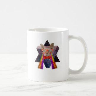 Crazy Cat Laser Beam Fantasy Coffee Mug