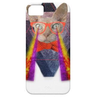 Crazy Cat Laser Beam Fantasy iPhone SE/5/5s Case
