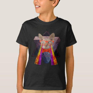 Crazy Cat Laser Beam T-Shirt