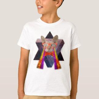 Crazy Cat Laser Beam T-Shirt