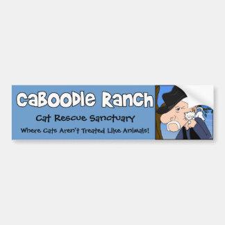 'Crazy Cat Man' Bumper Sticker Car Bumper Sticker