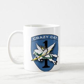 Crazy Cat - RR Vietnam Coffee Mug