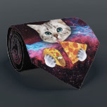 "Crazy Cat Taco Pizza Space Tie<br><div class=""desc"">Get ready to rock your next board meeting with this stylish tie. Show your colleagues that you are a force to be reckoned with. Be the envy of the office and walk about with the confidence that no one has a tie that can contend with yours.</div>"
