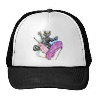 crazy cat trucker hat