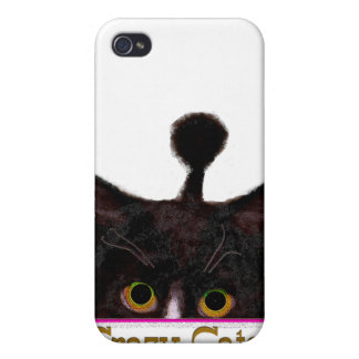 CRAZY CATS  iPhone 4 COVERS
