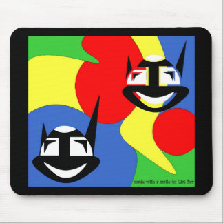 crazy cats mouse pads